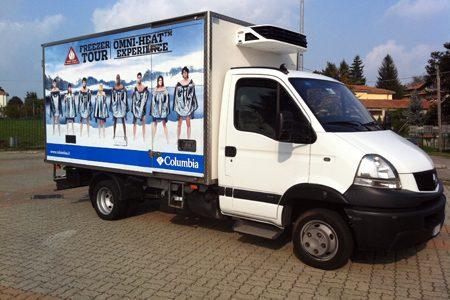 furgone grafica personalizzata